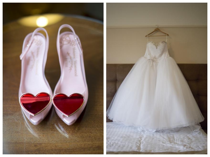 Real Fairy-Tale Dress Wedding: Kirsty & Michael