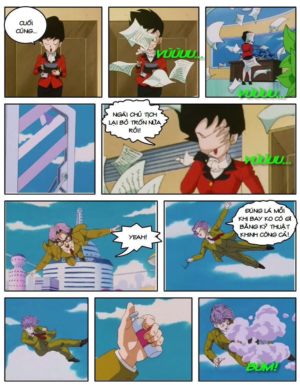 Dragon Ball GT chap 4 - Trang 8