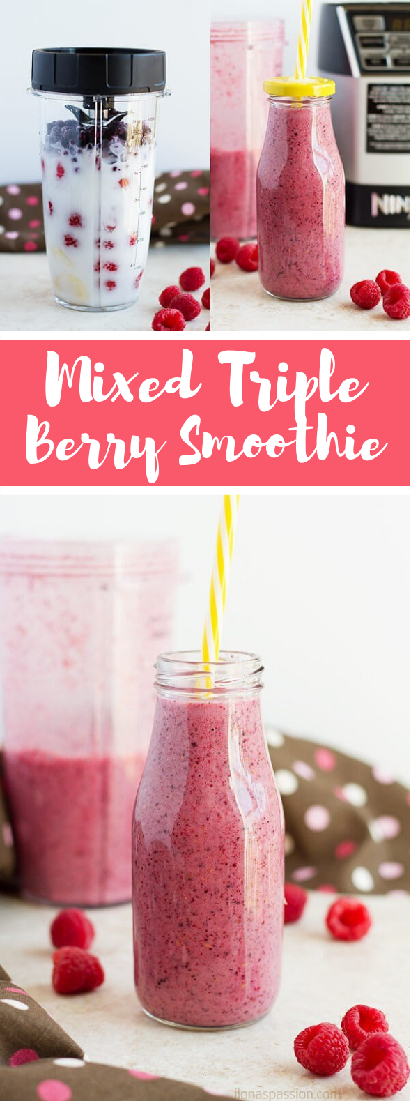 MIXED TRIPLE BERRY SMOOTHIE