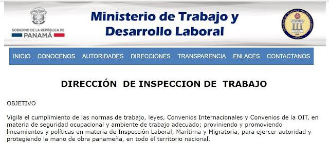 Denuncias Ministerio de Trabajo República de Panamá