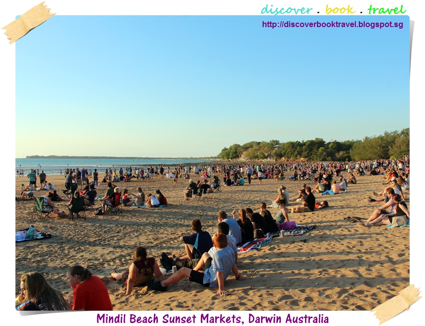 how to get to mindil beach markets