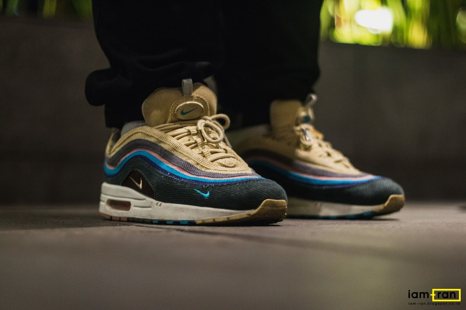 online retailer 646a9 18b73 IAM-RAN: ON FEET : Tom Cuk - Nike airmax 97/1 Sean Wotherspoon