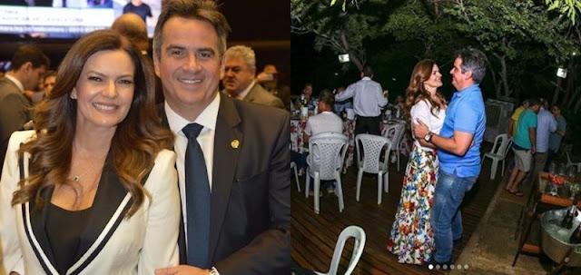 Iracema Portella e Ciro Nogueira anunciam separação