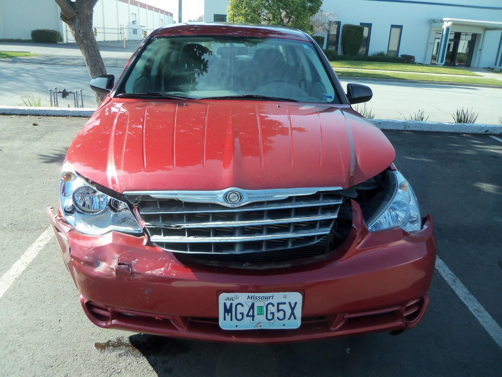 Collision accident damage before repairs at Almost Everything Auto Body
