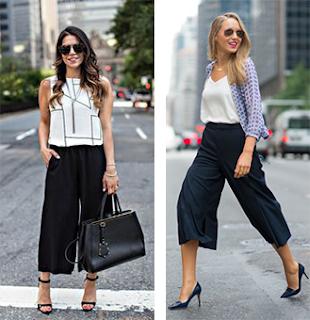 Na moda - culottes