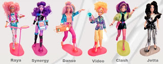jem holograms dolls raya synergy danse video clash jetta collection
