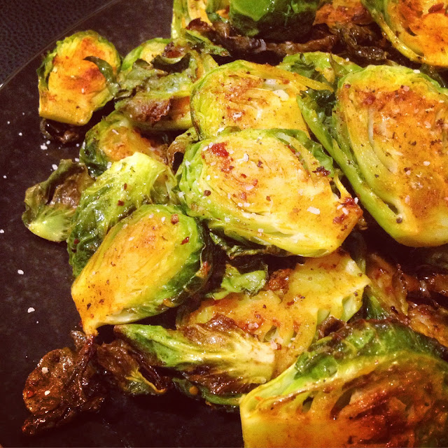 Barbecue Roasted Brussels Sprouts