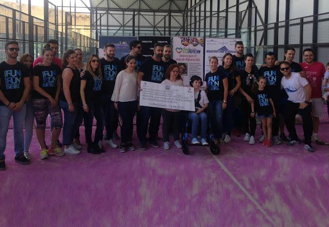 El II Torneo Benéfico de Pádel logra recaudar 2.200 euros para Lucia Folgoso