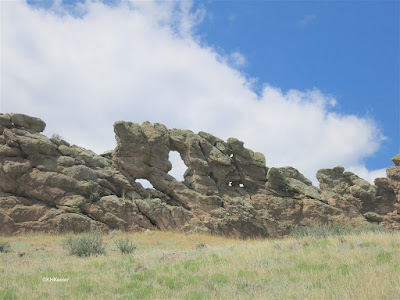 Devil's Backbone, Loveland Colorado from the north