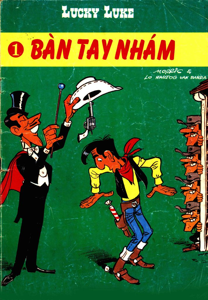 Lucky Luke tap 1 - ban tay nham trang 44