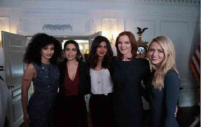 Cast Member Of Quantico, Priyanka Friends Of Hollywood Film Industry