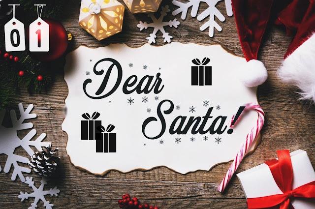 Dear Santa! - czyli moja świątęczno - mikołajowa wishlista (Blogmas 2016)