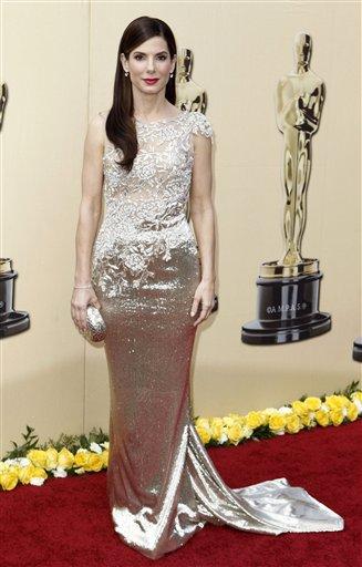 Fashion World Sandra Bullock Hot Dresses Collection