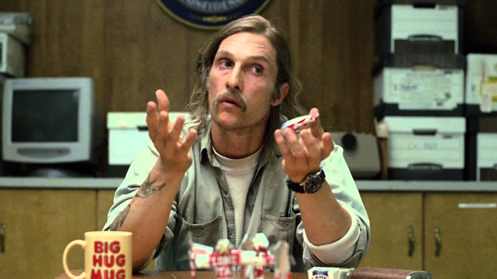 Rust Cohle, True Detective, HBO, matthew mcconaughey,