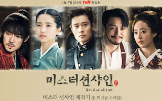 Mr. Sunshine, Drama Korea Mr. Sunshine, Korean Drama Mr Sunshine, Sinopsis Drama Korea Mr. Sunshine, Cast, Pelakon Drama Korea Mr. Sunshine, ee Byung Hun, Kim Tae Ri, Yoo Yeon Seok, Byun Yo Han, Kim Min Jung, Kim Kap Soo, Ending Drama Korea Mr. Sunshine, Top 1, Best Korean Drama 2018 - Mr. Sunshine, Top 15 Drama Korea Terbaik 2018, Top 15 Drama Korea Terbaik 2018 Pilihan Miss Banu, Best Korean Drama 2018, My Korean Drama List, Top 15 Best Korean Drama Of 2018, Review By Miss Banu, Blog Miss Banu Story,