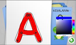 aplikasi android belajar menulis huruf dan angka 2