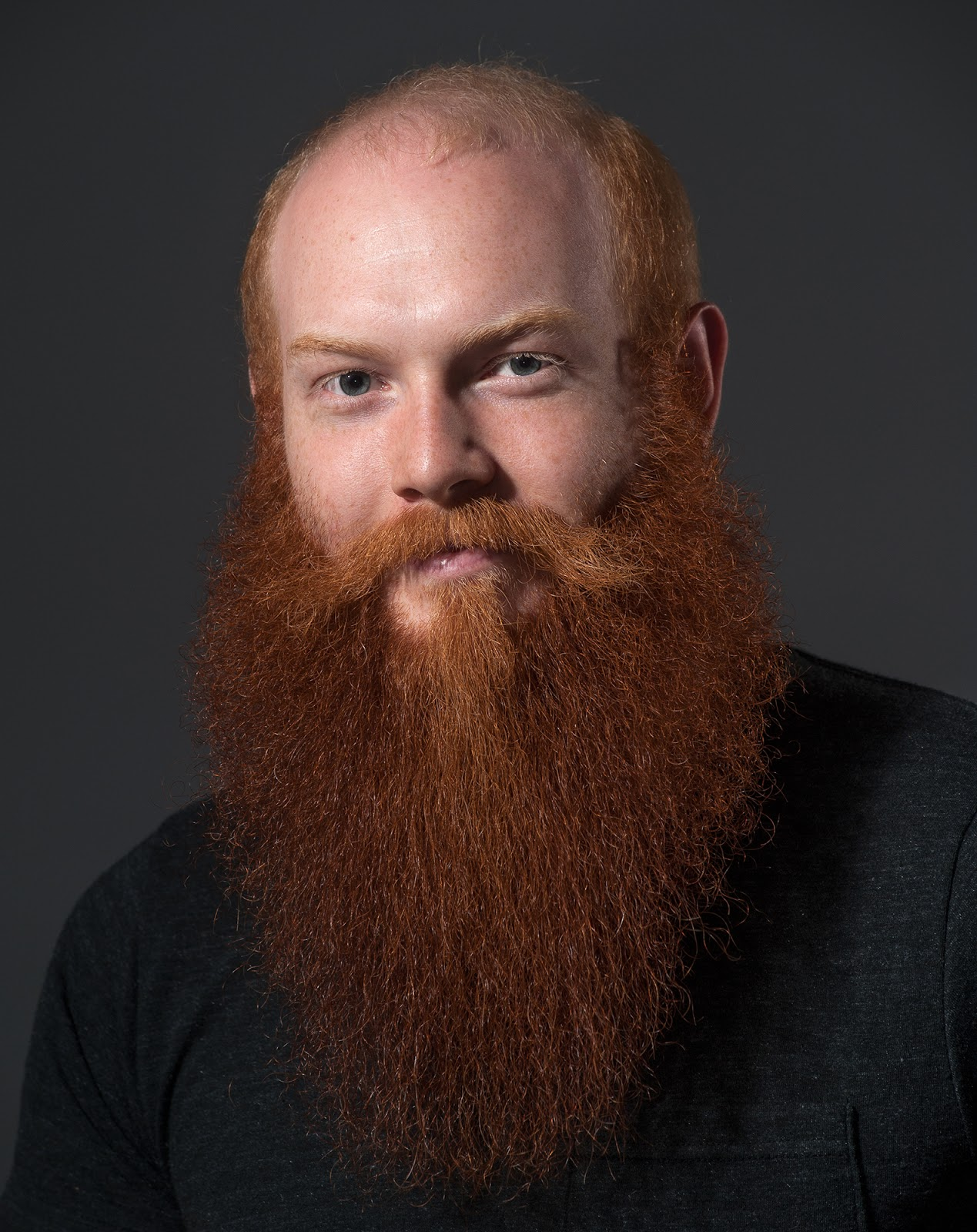 it was pretty intense to get it done here is my beard in full i grew it from the start of the duckus production till the very end