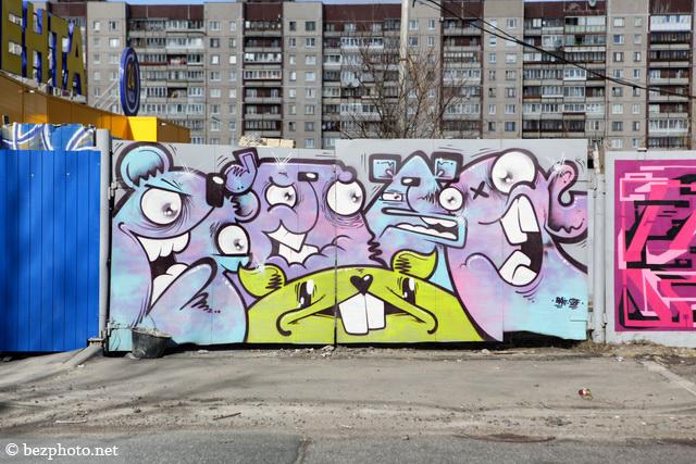 граффити в питере адреса