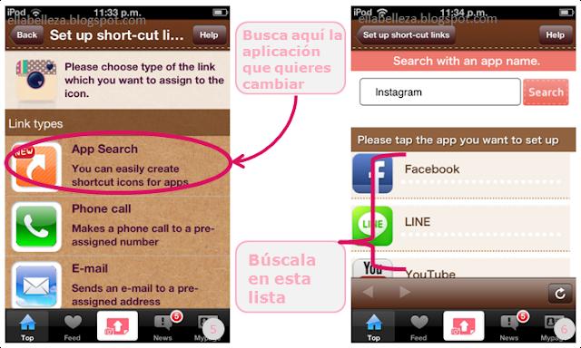 app cocoppa uso