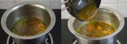 how to make pudina rasam