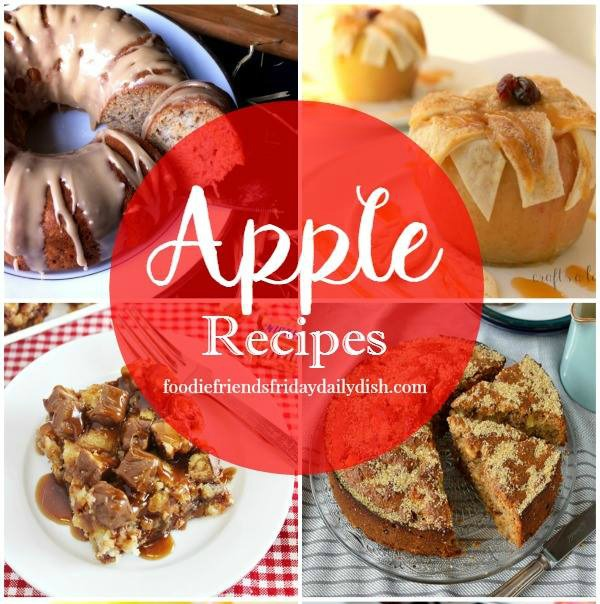 Apple Recipes featured on Walking on Sunshine Recipes
