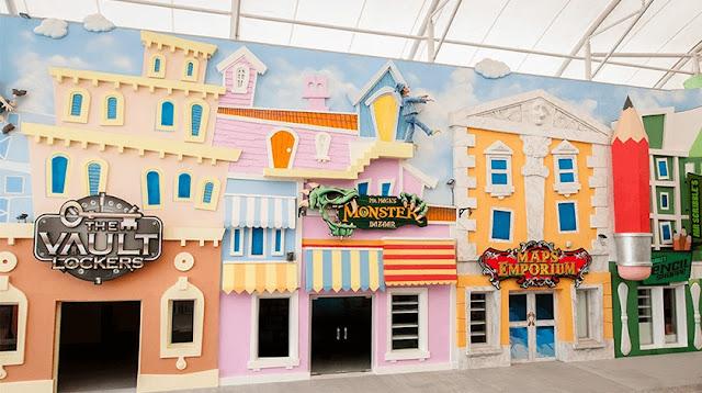 Movie Animation Park Studios, Tempat Liburan Baru di Malaysia Yang Seru Banget!
