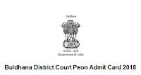 Buldhana District Court Peon Admit Card