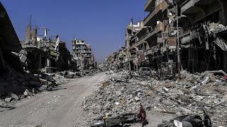 Raqqa syria destruction
