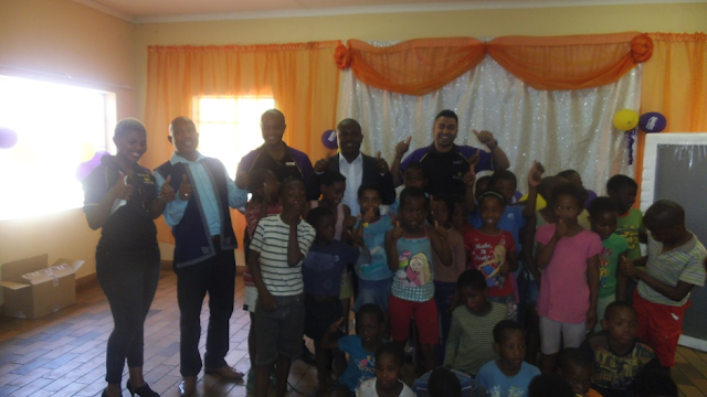 Hollywoodbets Daxina with SOS Ennerdale Children - Social Responsibility Programme - CSI and Giving Back