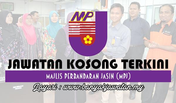 Jawatan Kosong 2017 di Majlis Perbandaran Jasin (MPJ) www.banyakjawatan.my