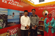 Mari Lihat Kerajinan Enceng Gondok di Stand Aceh Barat