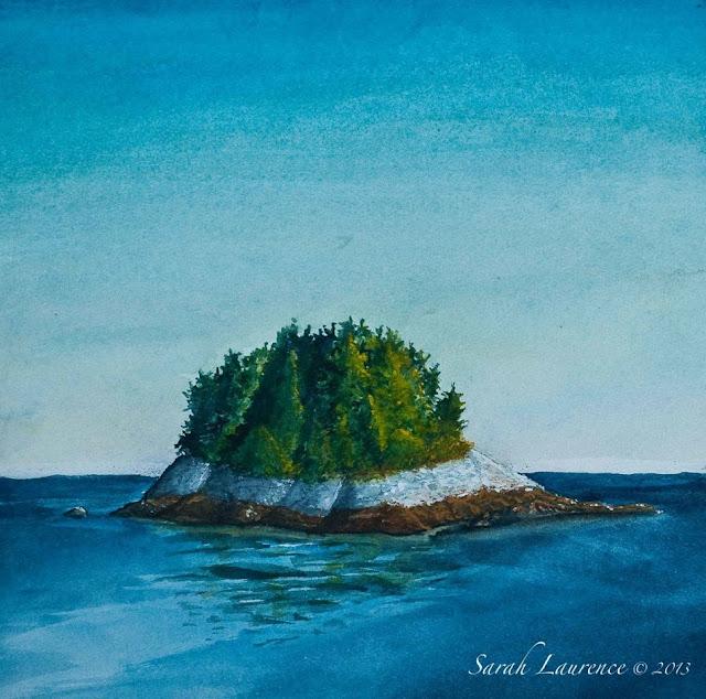 Sarah Laurence: 10X10 Art Show In Brunswick, Maine