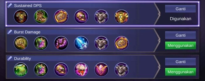 Build Item Uranus GG - Hero Tank Mobile Legends Penjaga Celestial Palace