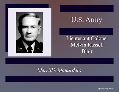 A short biopic on Lieutenant Colonel Melvin Russell Blair - WWII, Korea, Veteran