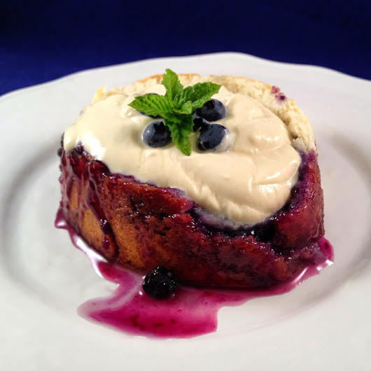 Betty-Lou's Blueberry Roly-Poly