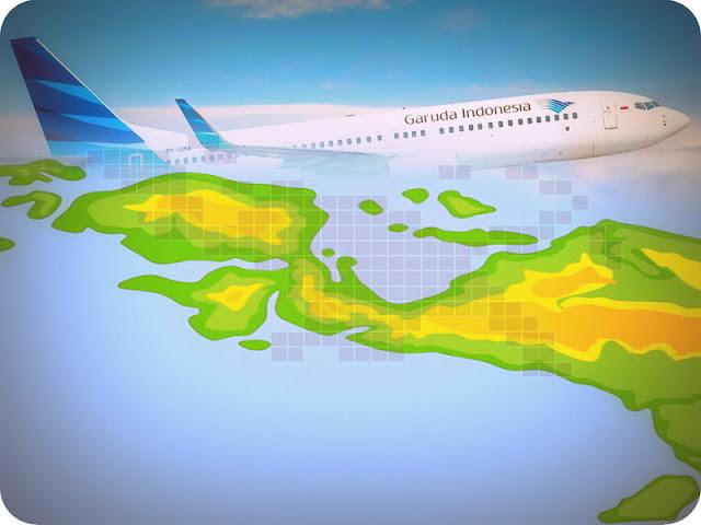 Garuda Indonesia Terbang Perdana Ambon, Kaimana, Manokwari dan Nabire