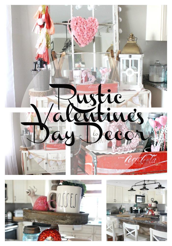 Farmhouse Valentine Decorations Easy