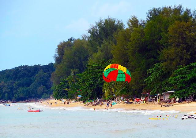 beach life at Batu Ferringhi has different variants