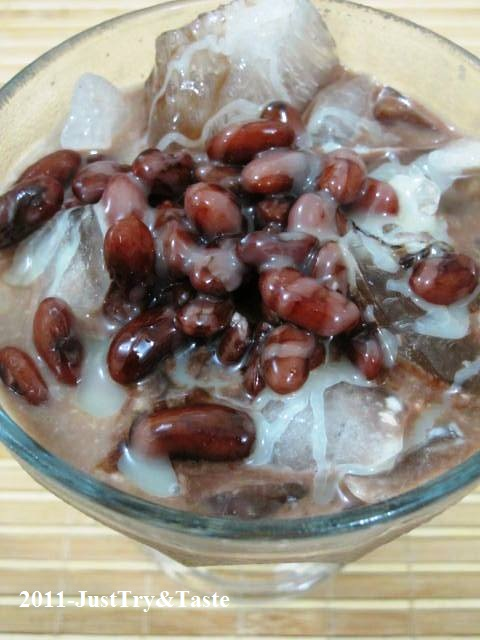 Resep Es Kacang Merah Nan Legit