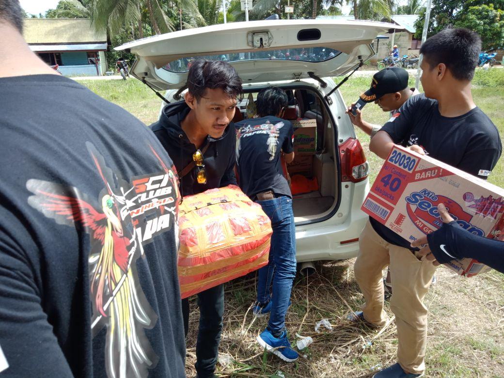 Donasi GSX Club Indonesia Untuk Perbatasan Negara