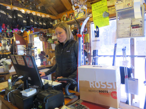 Roscommon Cross Country ski headquarters