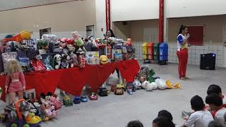 CSJD realiza ação solidária com doação de brinquedos e faz mais de 300 crianças felizes nesse Natal...