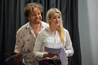 Matthew Sharp, Kirsty Maclean - Mahogany Opera Group - The Rattler workshop - photo James Berry