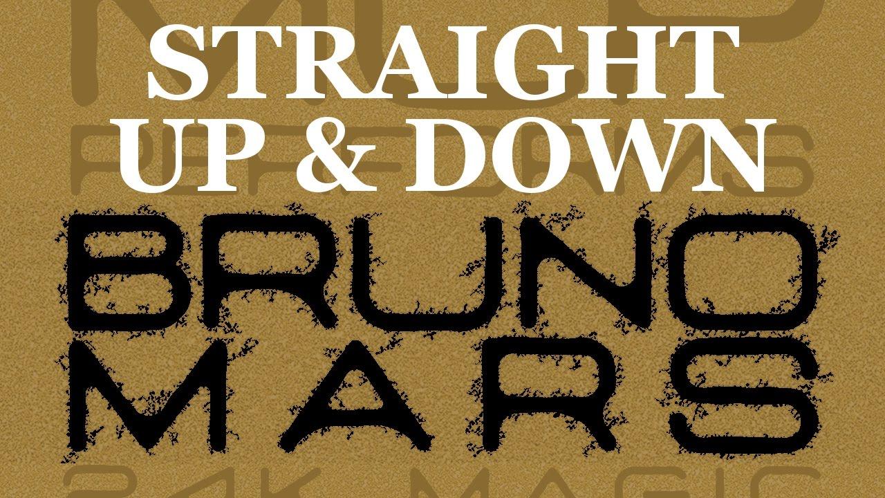 Bruno Mars Straight Up Down Guitar Chords Lyrics Kunci Gitar