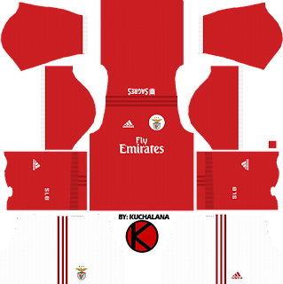 S.L. Benfica Kits 2017/18 - Dream League Soccer