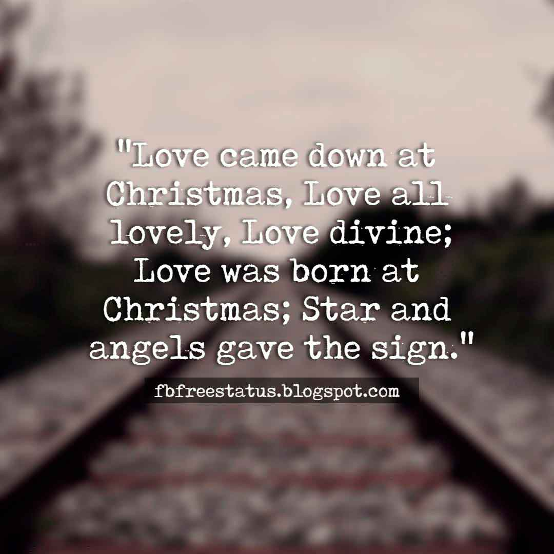 Inspirational Christmas Quotes, wishes