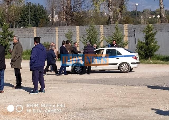 Πάρκο Τρίτση: Η Αστυνομία σταμάτησε την δενδροφύτευση... (PHOTOS)
