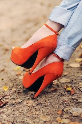 Zapatos de tacon sencillos