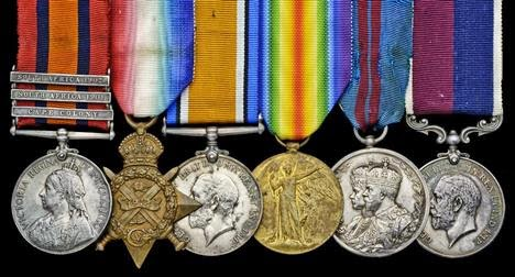 dannyhowellnet Up For Auction The Medals Of Sergeant W