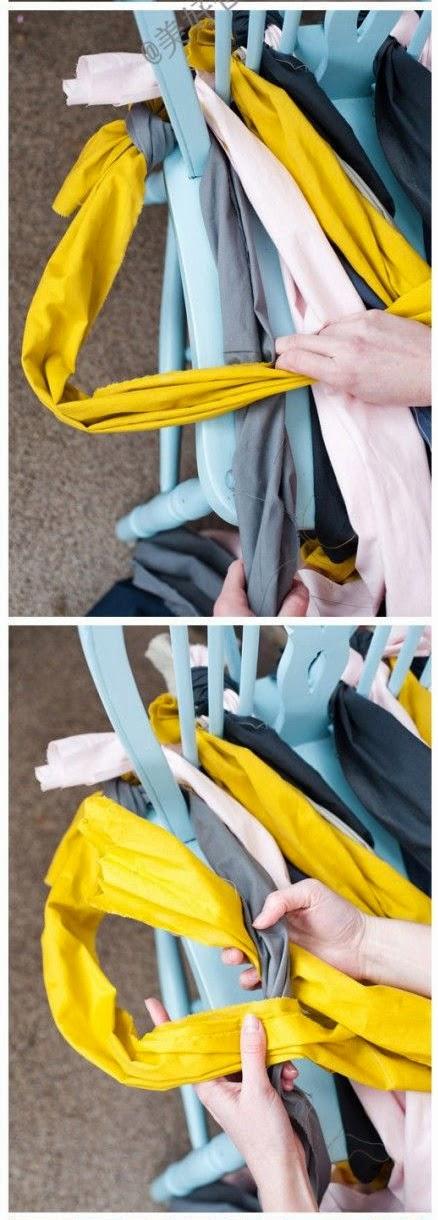Asiento de silla trenzado Paso 4